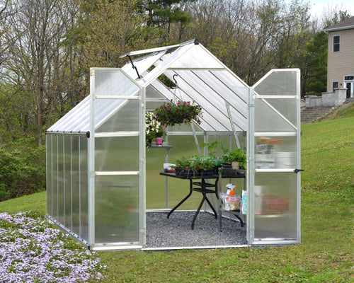 Essence Polycarbonate Greenhouse 8x12
