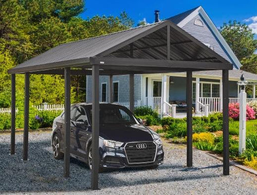 12x20 Metal Carport - 25% OFF AUGUST ONLY