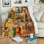 GOLDEN RETRIEVER - Fleece Blanket
