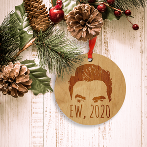 """Ew, 2020"" - Christmas Ornament for 2020 - inspired by hot TV sitcom"