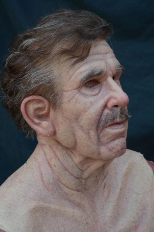 Hyper Realistic Old Man Skin Mask - Halloween Costume