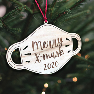Merry X-mask Funny Ornament for Christmas 2020