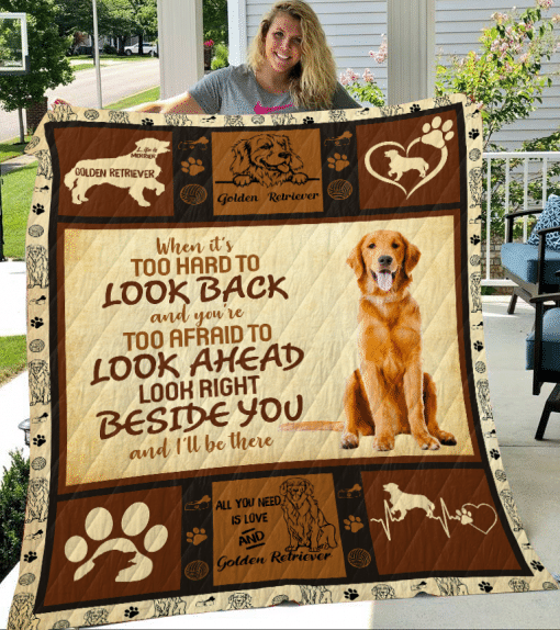 GOLDEN RETRIEVER - Quilt