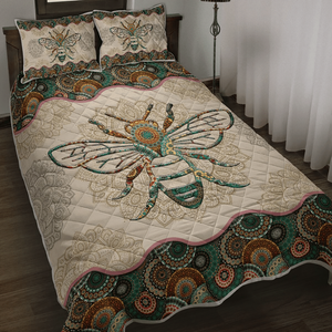 Bee Vintage Mandala Bedding Set