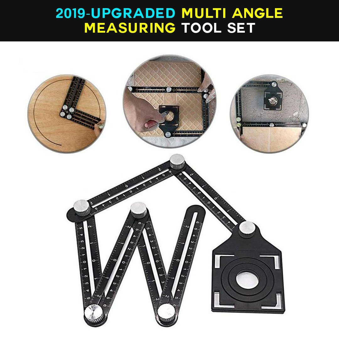 Homerri 200083149 HATEK™ Multi Angle Measuring Tool Set Version 2.0 (2019 Upgrade)