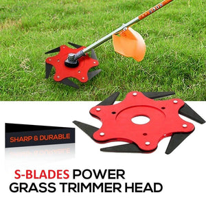 homerri 2019 version (SAVE 50%) S-BLADES™ - STEEL RAZOR BLADES LAWN MOWER