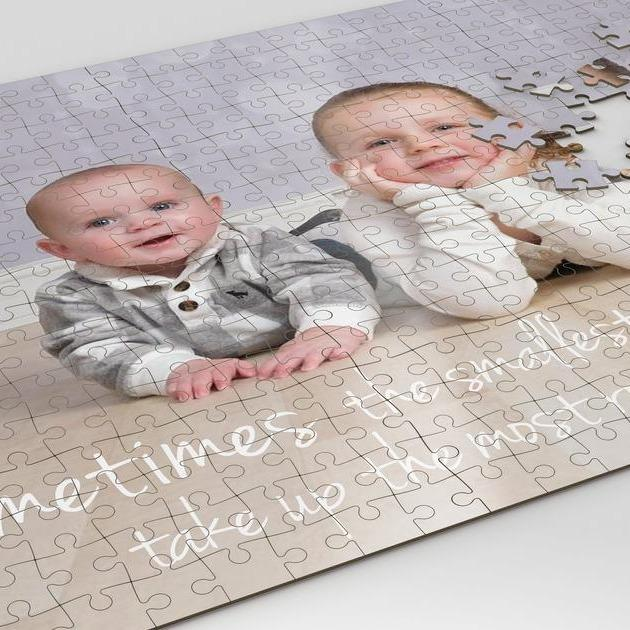 Personalized Photo Wooden Puzzles - Picture Puzzle for Your Memory