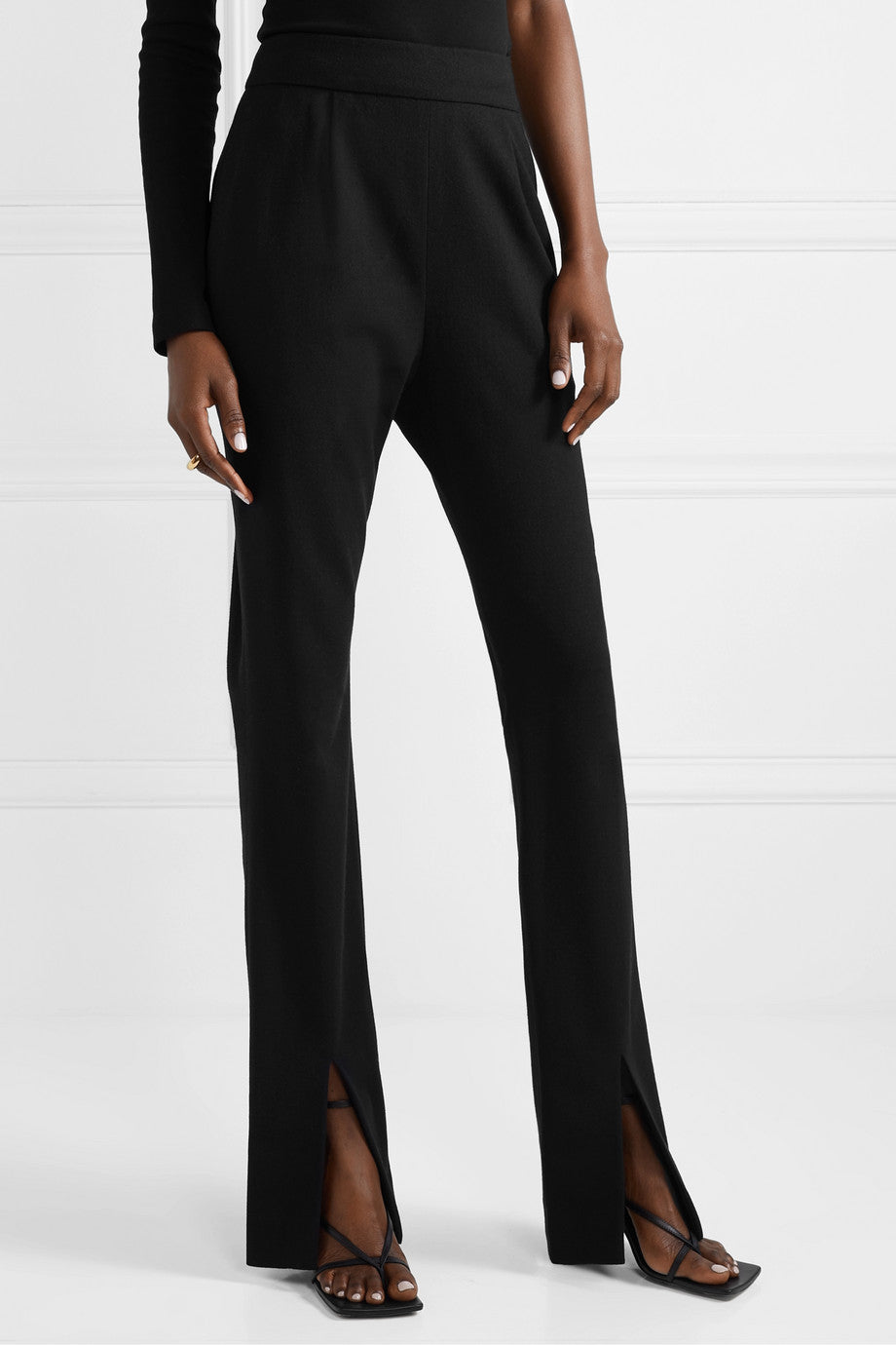 LA COLLECTION Ludovique Trousers in Black