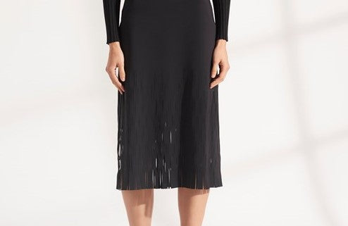 DION LEE SHADOW PERF DRESS