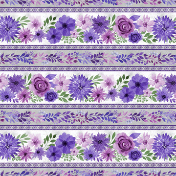 Amethyst Magic Border