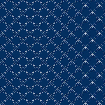 Navy Lattice