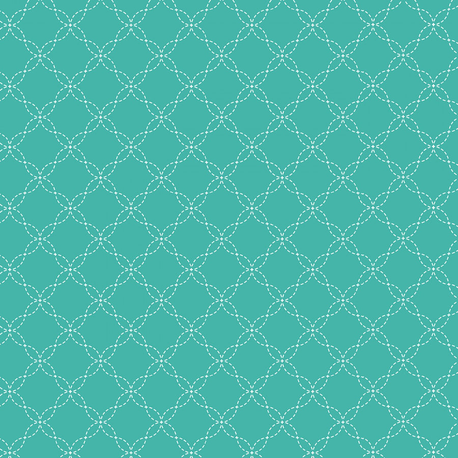 Teal Lattice