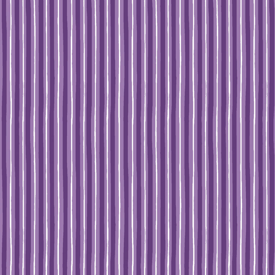 Violet Little Stripe