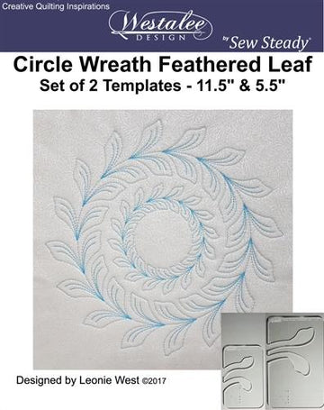 Circle Wreath Feathered Leaf |
