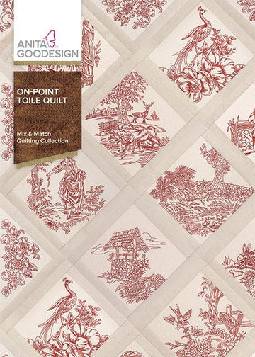On Point Toile Quilt