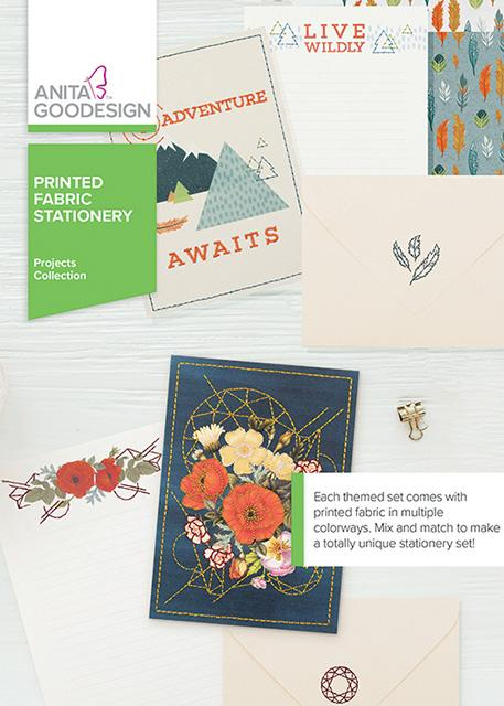 Printed Fabric Stationary