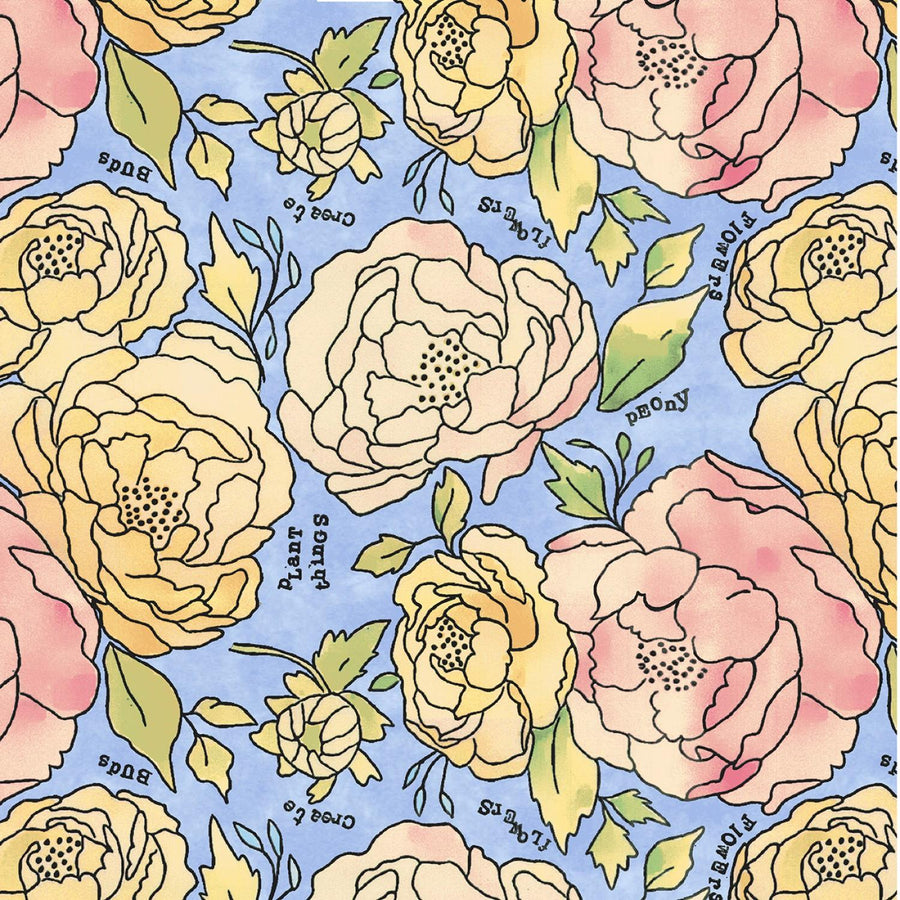 Potpourri Pink/Yellow floral