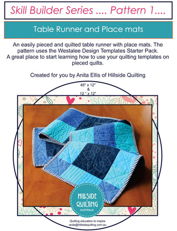 Skill Builder | #1 - Table Runner & Placemats
