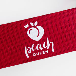 Red Resistance Band (Heavy) - Peach Queen
