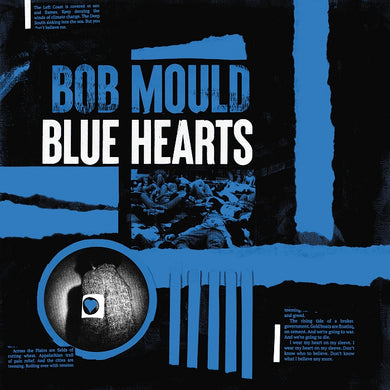 Bob Mould- Blue Hearts PREORDER OUT 9/25