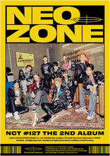 Load image into Gallery viewer, NCT 127- The 2nd Album 'NCT #127 Neo Zone'