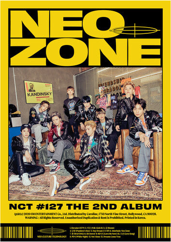 NCT 127- The 2nd Album 'NCT #127 Neo Zone'