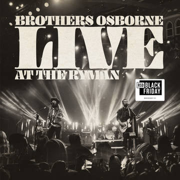 Brothers Osbourne - Live At Ryman