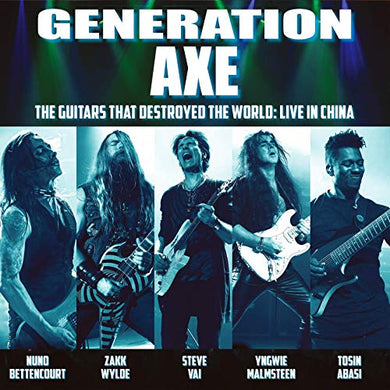 VA- Generation Axe: The Guitars That Destroyed The World: Live In China