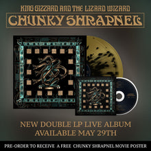 Load image into Gallery viewer, King Gizzard & the Lizard Wizard- Chunky Shrapnel