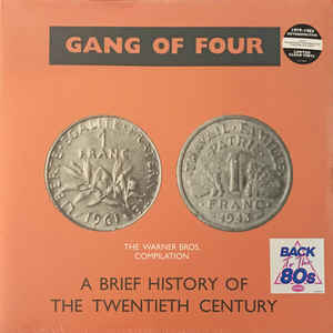 Gang of Four- A Brief History of the