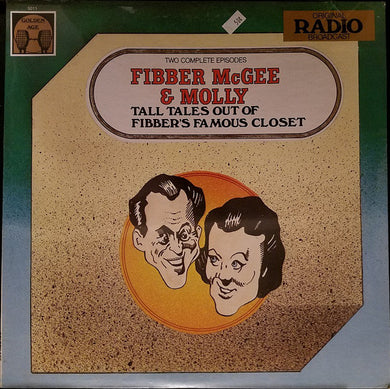 Radio Broadcast- Fibber McGee & Molly: Tall Tales Out Of Fibber's Famous Closet
