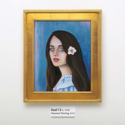 Sad13- Haunted Painting
