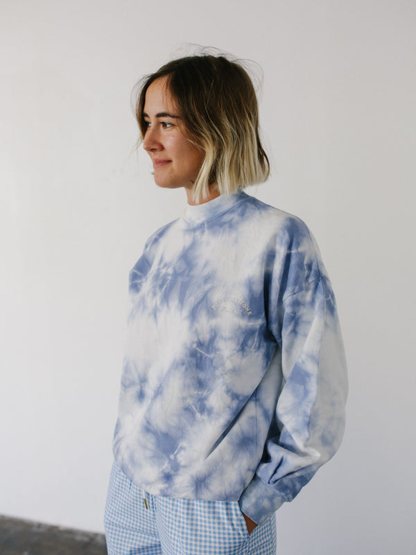 Polar Fleece Tie Dye