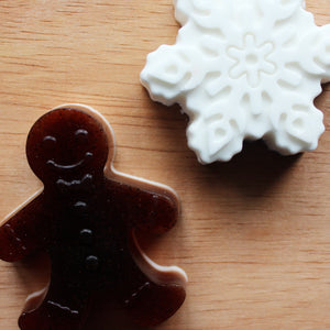 Gingerbread Cookie & Vegan Milk Soaps (Set)
