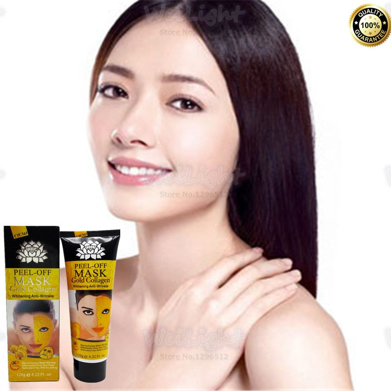 Real 24K gold Collagen Facial mask Exclusive sales on Aliexpress Deep Moisturizing Anti-Aging Face Mask for Beauty skin care HOT - Organic Youth & Beauty [100% Quality Guaranteed] Shop Now
