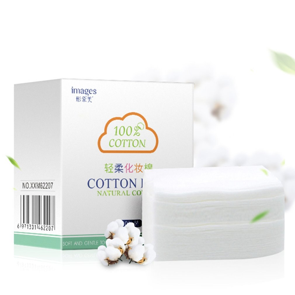 100 pcs Cotton Pad Makeup Remover maquiagem Puff Organic Cotton Skin Care Padded Makeup Cotton Facial Cleansing Face - Organic Youth & Beauty [100% Quality Guaranteed] Shop Now