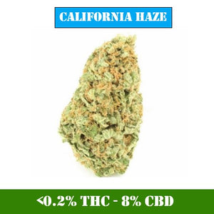 California Haze - <0.2% THC / 8% CBD