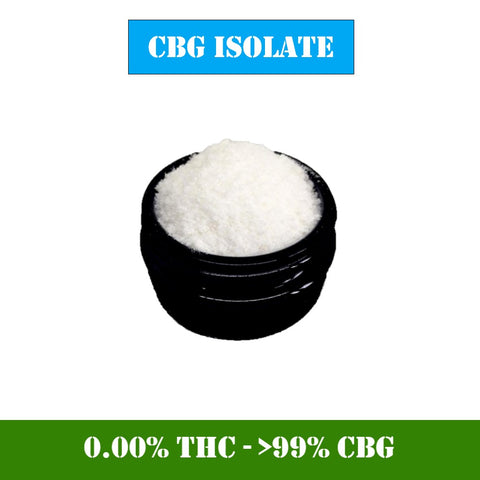 CBG  Cristaux Isolate