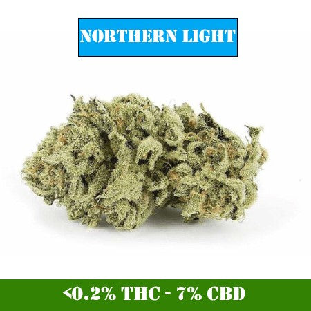 Northern Light - <0.2% THC / 7% CBD