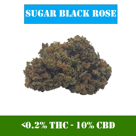 Sugar Black Rose CBD