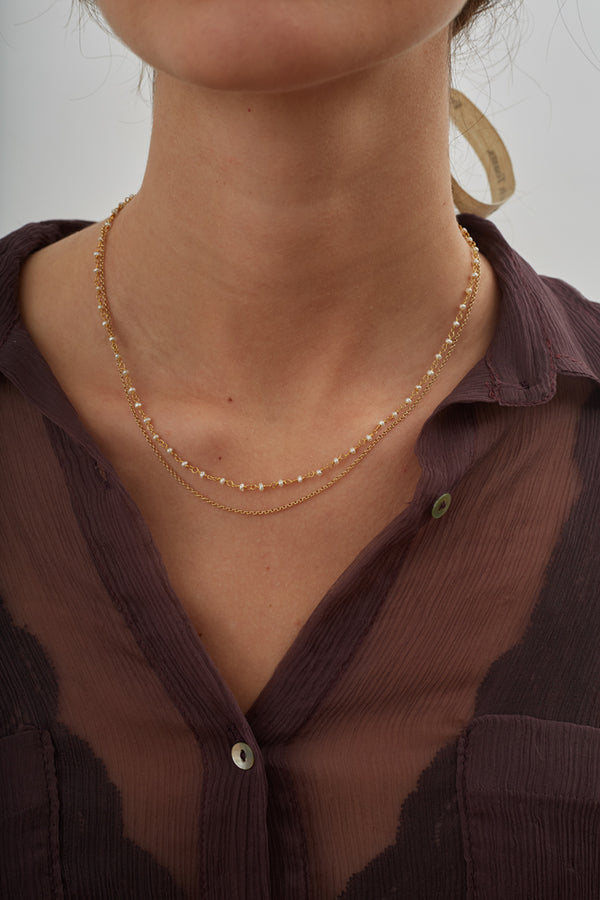 french toasts collection necklace