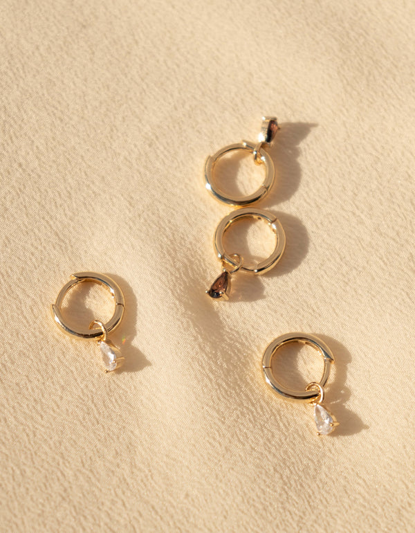 NOA Earrings - White