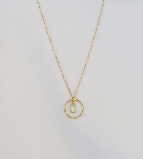 ALLEGRA Necklace - Citrine