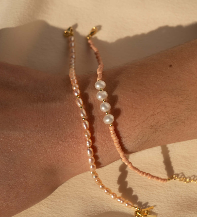 PEARLY Bracelet - Pink