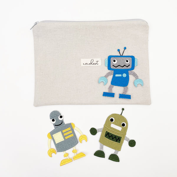 robot patches