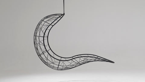 Shape hanging lounger