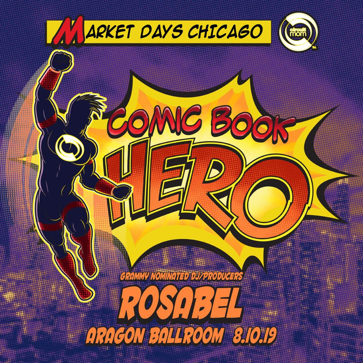 Market Days 2019: General Admission Comic Book Hero