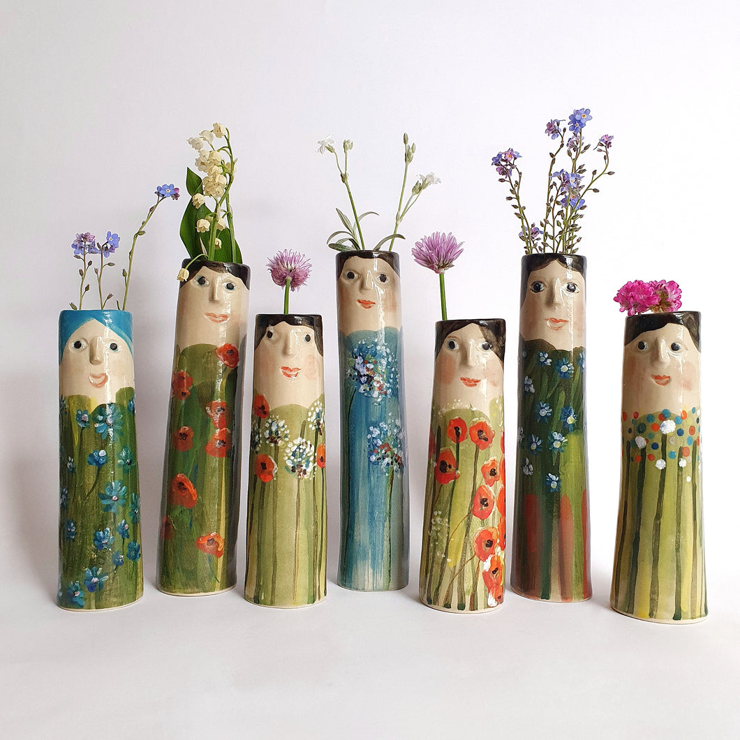 Flower Family Bud Vases