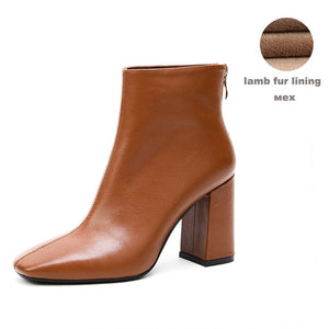 Ankle Boots Women's High Heel