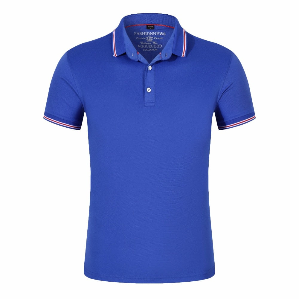 Men's Polo Shirt Cotton Short
